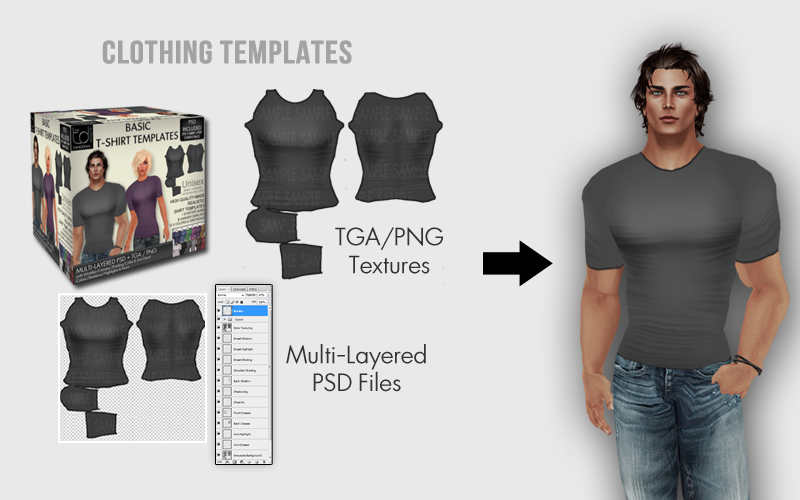 Td templates clothing templates for sl for Second life templates for gimp
